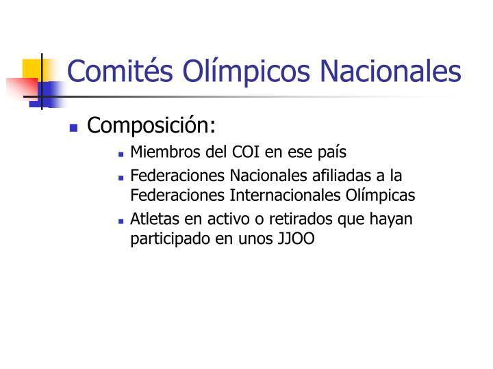 Comités Olímpicos Nacionales
