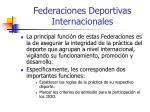 federaciones deportivas internacionales1