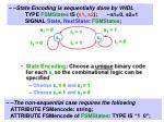 state encoding
