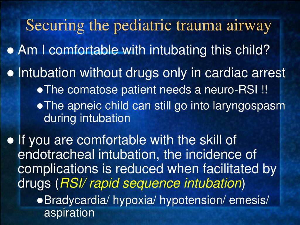 PPT - Pediatric Trauma in the Under 5 yr  old: Nuances in