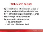web search engines1