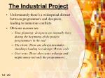 the industrial project