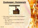 zookeeper homework