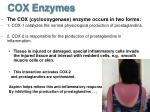 cox enzymes