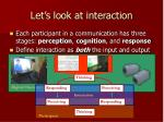 let s look at interaction
