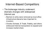 internet based competitors