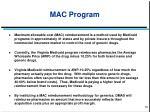 mac program