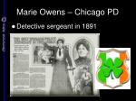 marie owens chicago pd