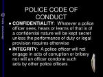 police code of conduct3