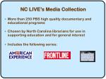 nc live s media collection