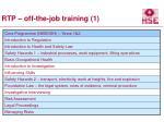 rtp off the job training 1