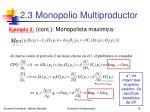 2 3 monopolio multiproductor16