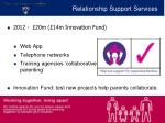 relationship support services