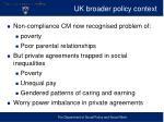 uk broader policy context