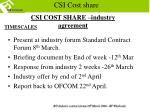 csi cost share7
