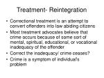 treatment reintegration