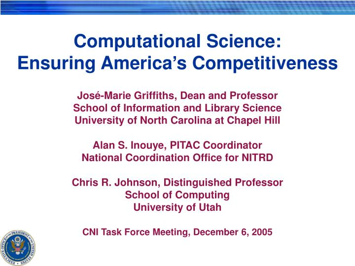 computational science ensuring america s competitiveness n.