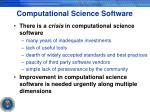 computational science software
