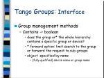 tango groups interface3