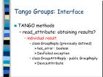 tango groups interface8