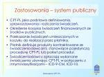 zastosowania system publiczny1
