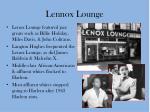 lennox lounge