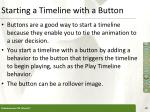 starting a timeline with a button