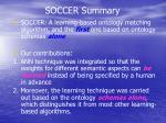 soccer summary