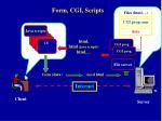 form cgi scripts