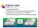 engines layer