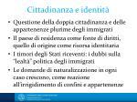 cittadinanza e identit