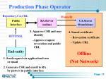 production phase operator