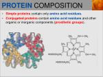 protein composition