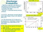 discharge probability