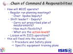 chain of command responsibilities