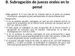 b subrogaci n de jueces orales en lo penal