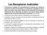 los receptores judiciales
