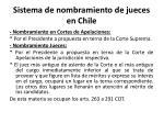 sistema de nombramiento de jueces en chile1