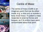 centre of mass2
