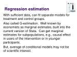 regression estimation2