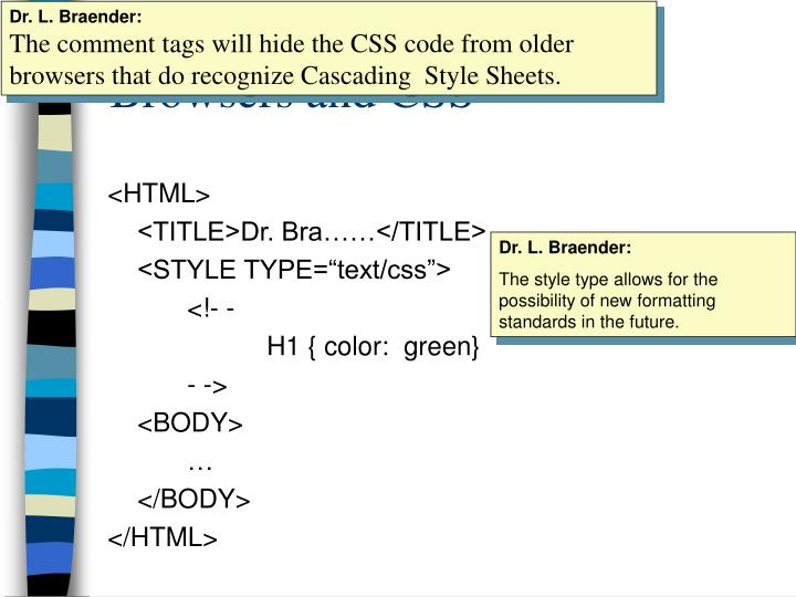 browsers and css n.