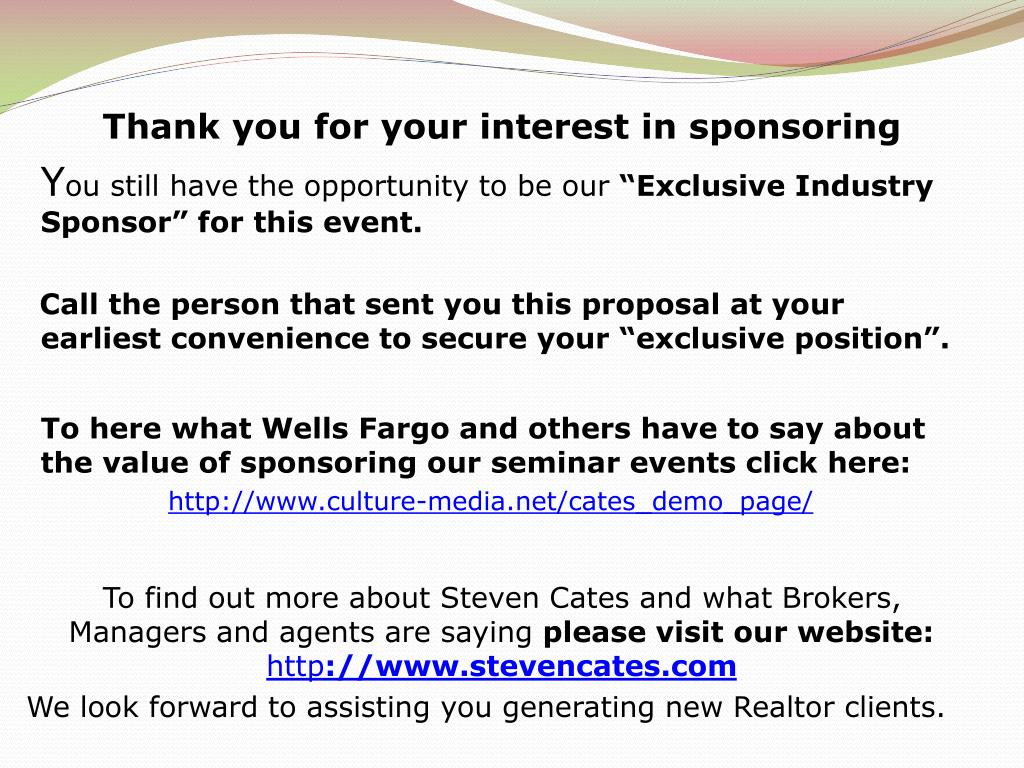 PPT - Steven Cates Author, Lecturer, Success Coach