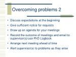 overcoming problems 2