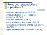 roles and responsibilities supervisors 3