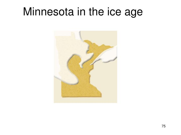 Minnesota in the ice age