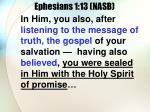 ephesians 1 13 nasb