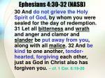 ephesians 4 30 32 nasb
