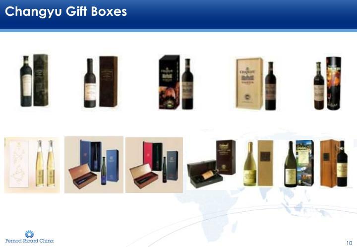 Changyu Gift Boxes