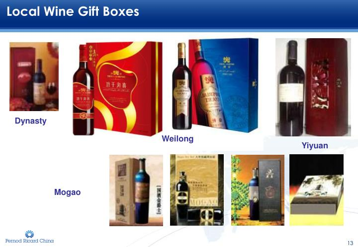 Local Wine Gift Boxes