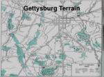 gettysburg terrain